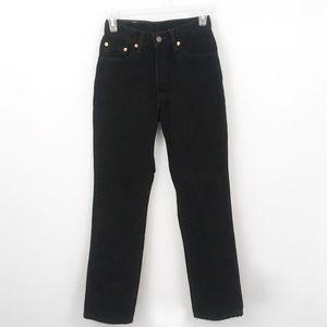 Slim Fit Straight Leg Black 512 Levi's High Waist